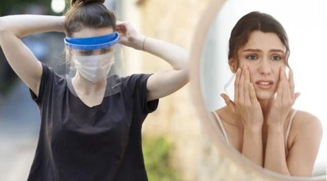 """Uzmanlar uyardı: """"Maskeyle gelen cilt hastalıklarına dikkat"""""""